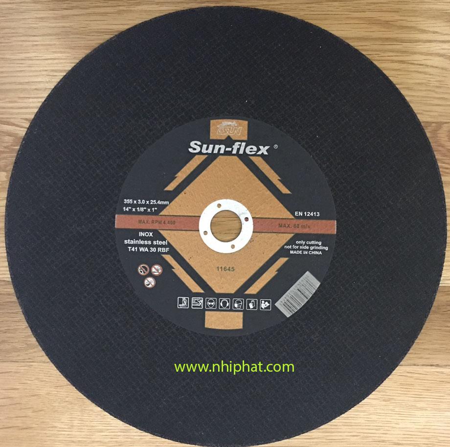 Đá cắt INOX 355X3X25.4 Sun-Flex