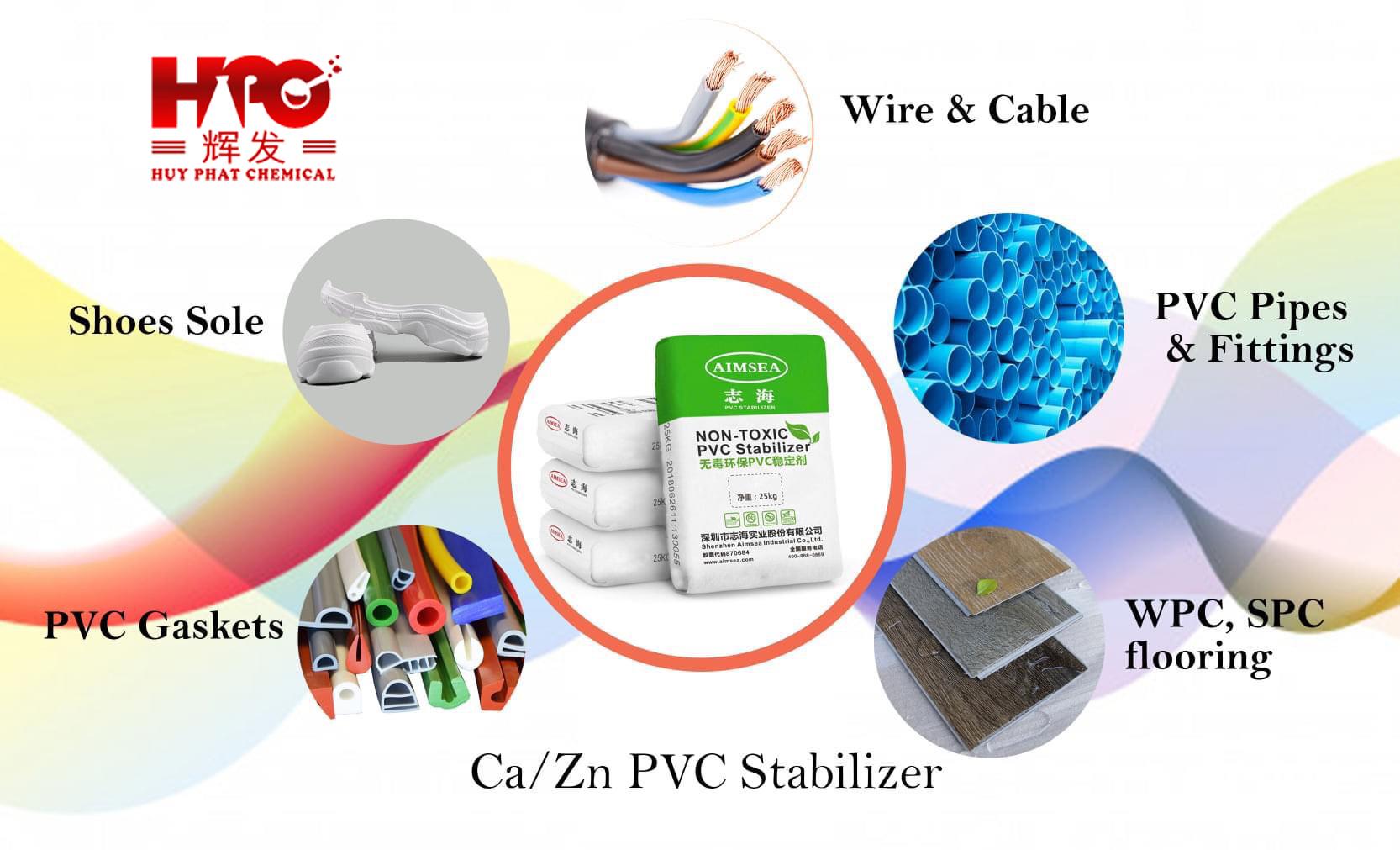 Phụ gia Ổn định nhiệt PVC hệ Ca/Zn