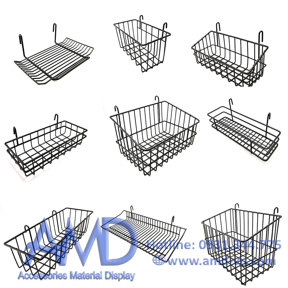 Rổ treo khung lưới bọc nhựa PE cao cấp đồng giá