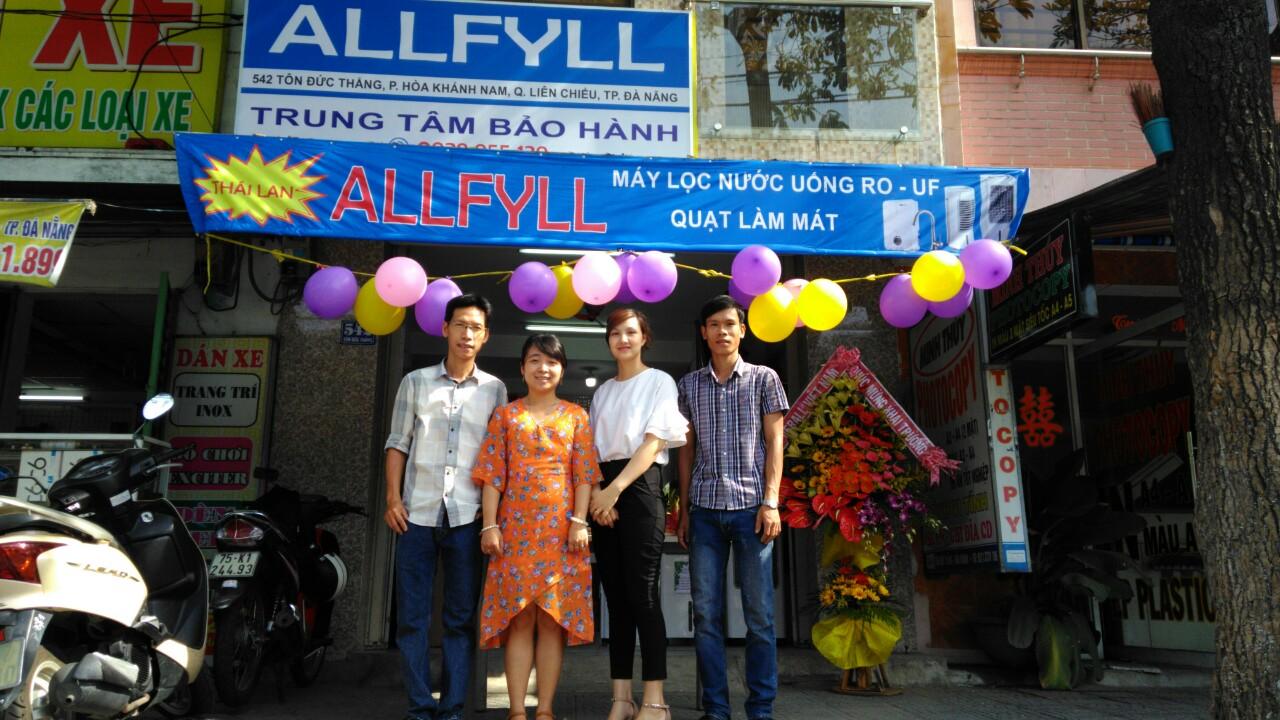 Khai trương Trung tâm bảo hành Allfyll CN Đà Nẵng
