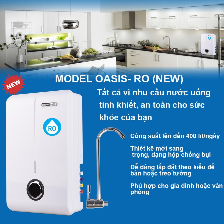Máy lọc nước uống tinh khiết Allfyll Thái Lan Model Oasis-RO (new)