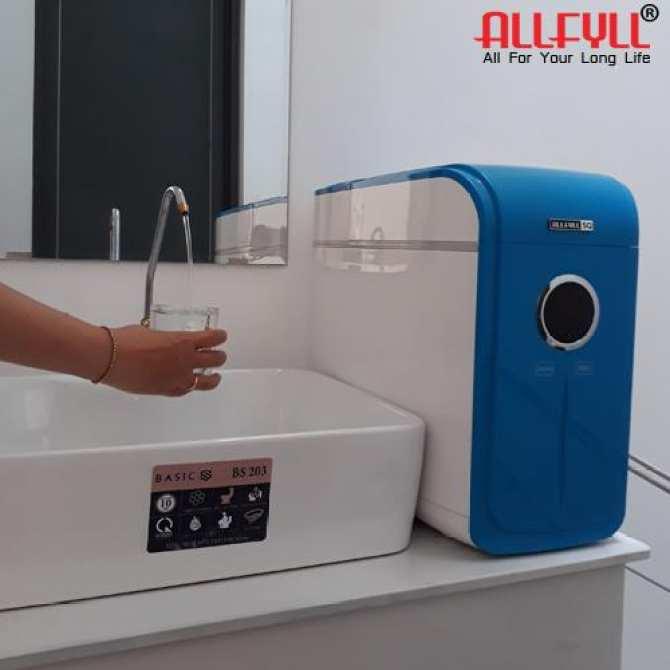 Máy lọc nước uống trực tiếp thương hiệu Allfyll đến từ Thái Lan Model SQ