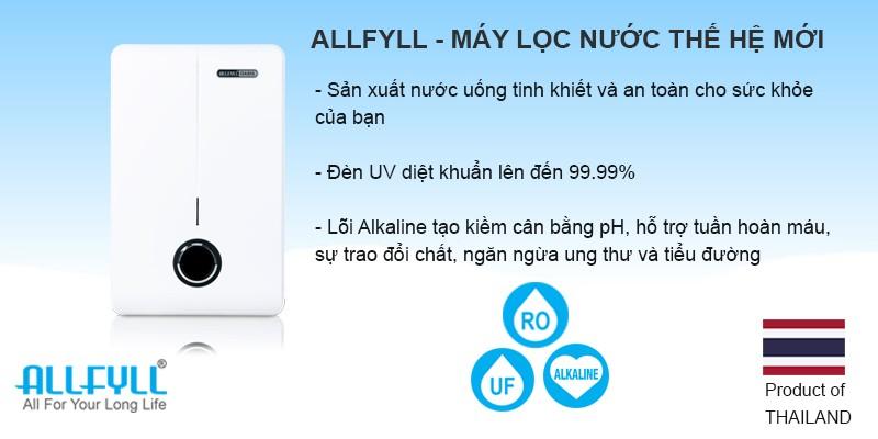 Tuyển đại lý phân phối máy làm mát, máy lọc nước Allfyll Thái Lan