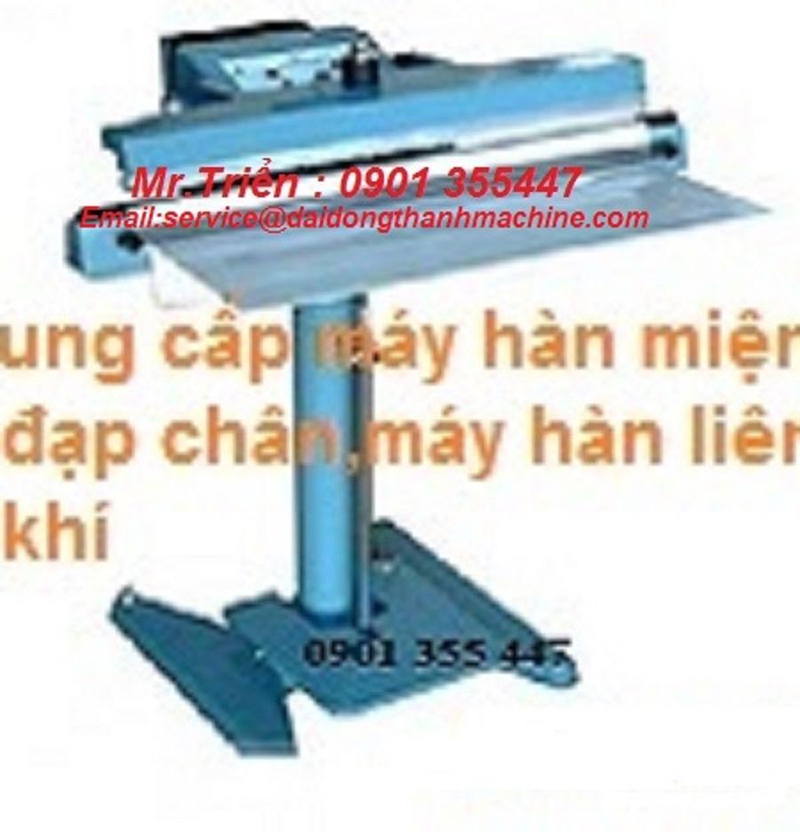Máy hàn miệng bao nilon liên tục model PFS-600 Long An,Tphcm,Đồng Nai,Bình Dương,Vũng Tàu