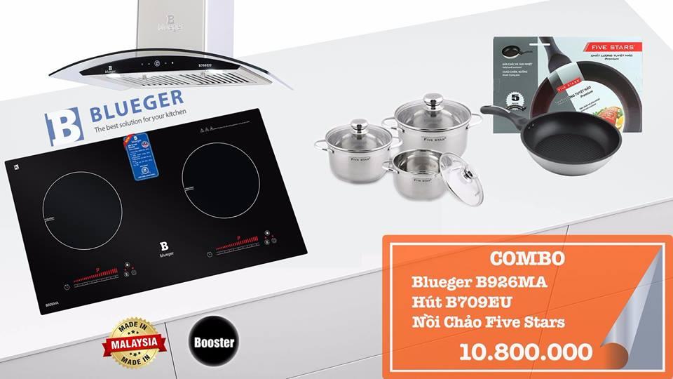 Bếp từ và hút mùi hãng Blueger