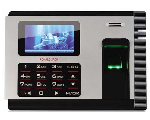 Máy chấm công vân tay + thẻ cảm ứng Ronald Jack X928-C