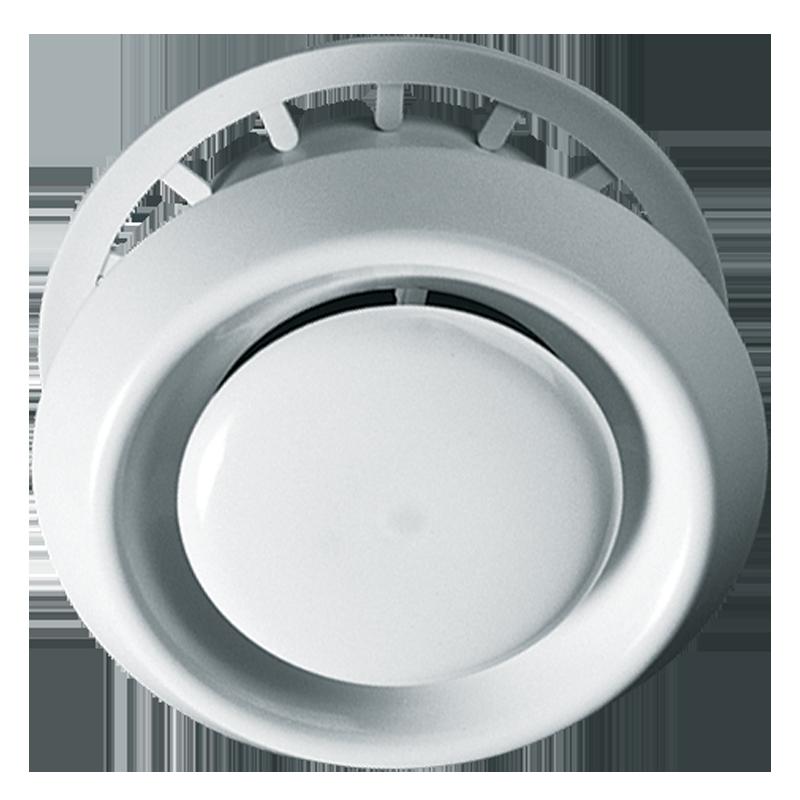 Cửa gió NHỰA dạng đĩa - điều chỉnh lưu lượng