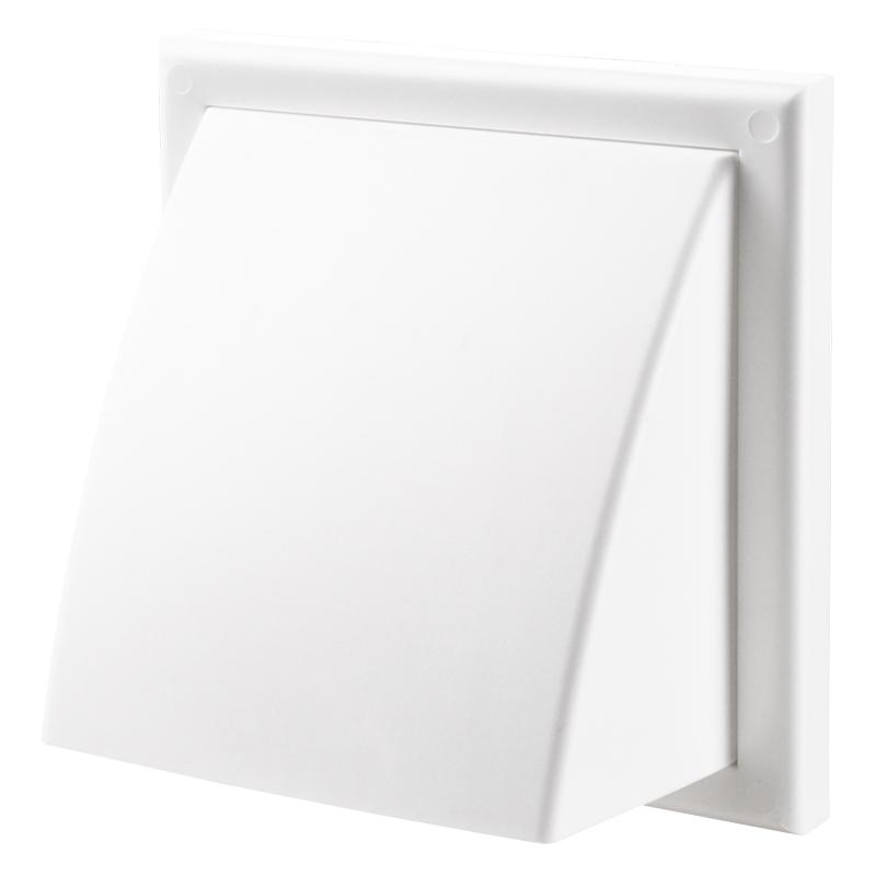 Cửa gió nhựa VUÔNG - có mái che - DECOR