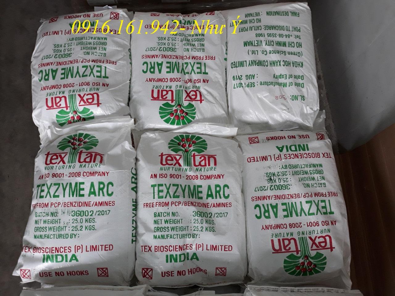 Enzyme xử Lý Nước, Cắt Tảo, Nguyên Liệu Nhập Khẩu Ấn Độ: TEXZYME ARC