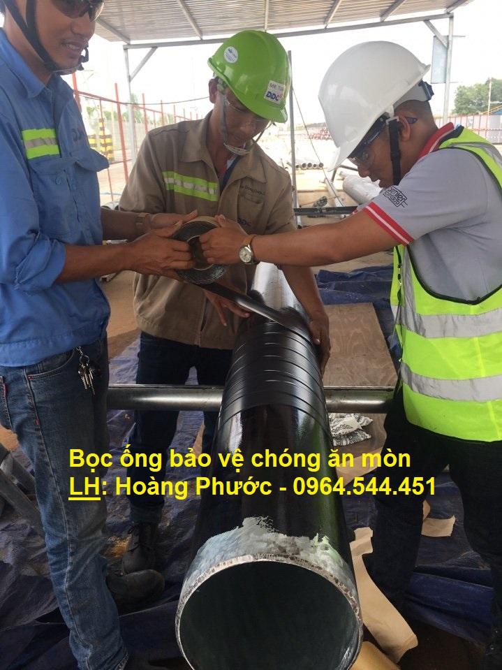 Băng quấn bọc chống gỉ sắt đường ống - UK