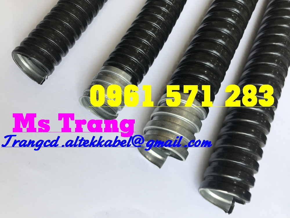 Ống ruột gà lõi thép bọc PVC và các loại đầu nối - Altek Kabel