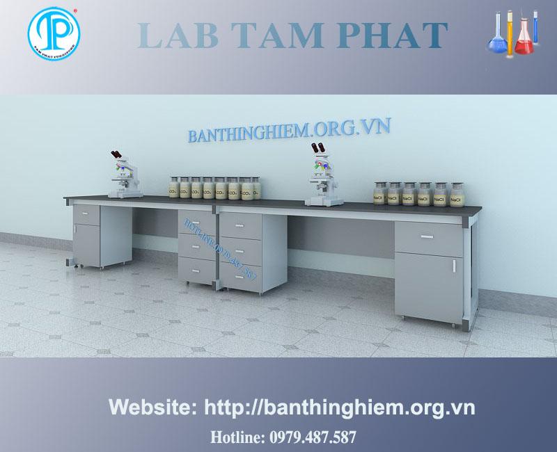 Bàn thí nghiệm áp tường BTNAT06