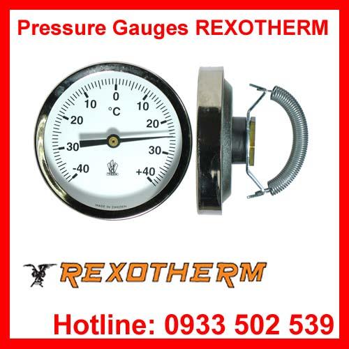 Đồng hồ đo áp suất Rexotherm - Cảm biến nhiệt độ Rexotherm