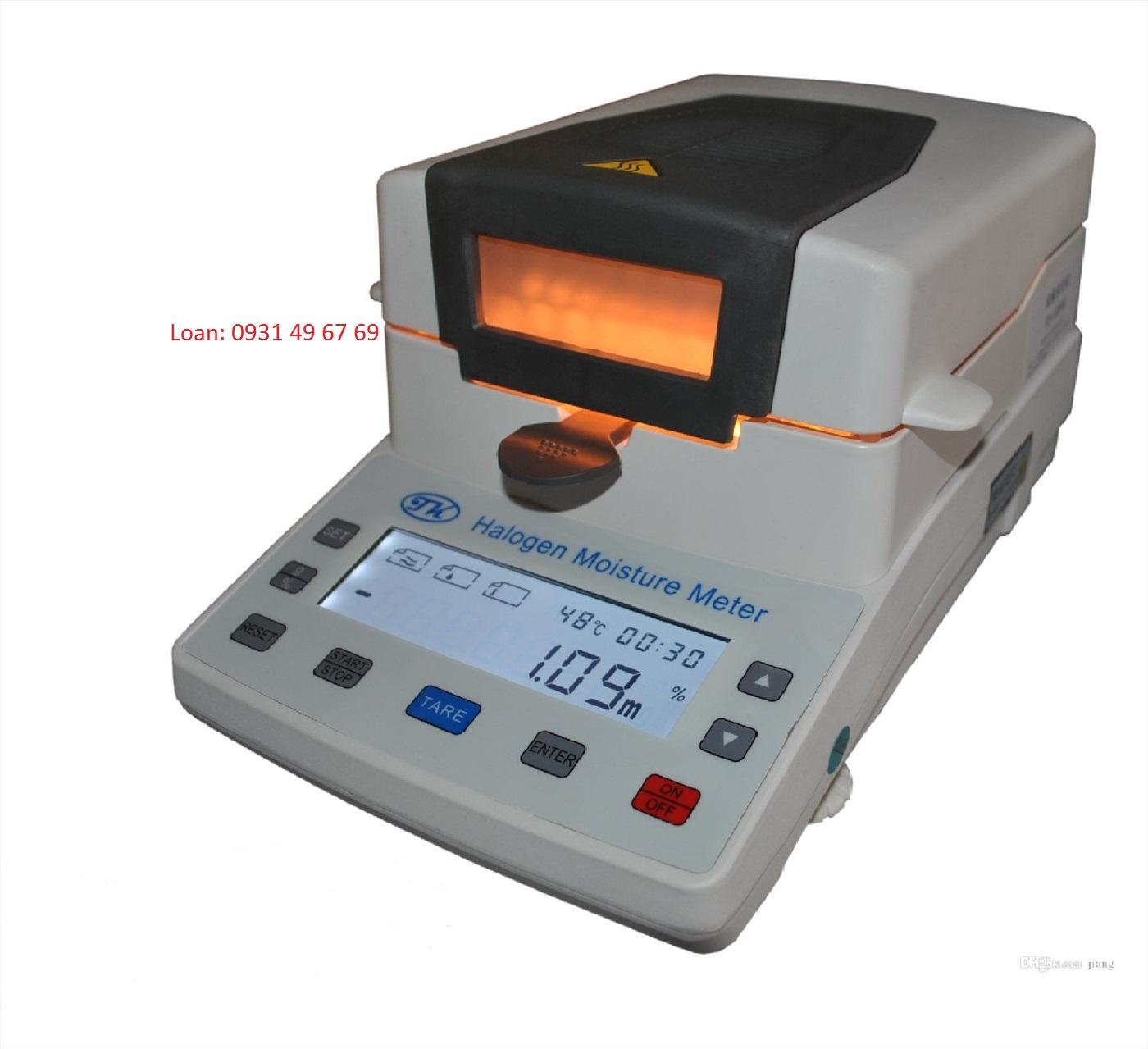 Cân sấy ẩm bằng đèn halogen XY-105W