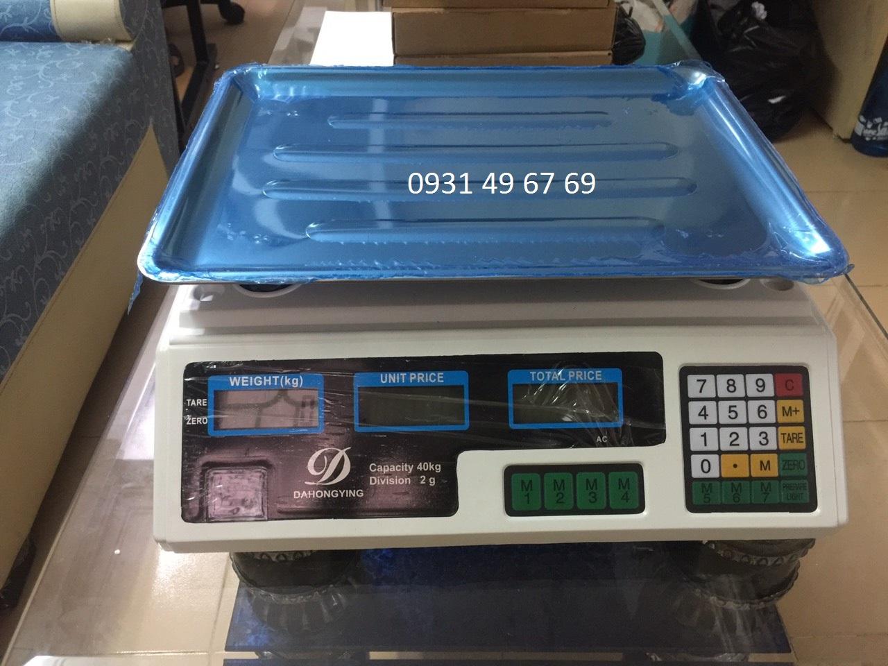 Cân tính tiền 40kg, cân siêu thị tính giá tiền 40kg