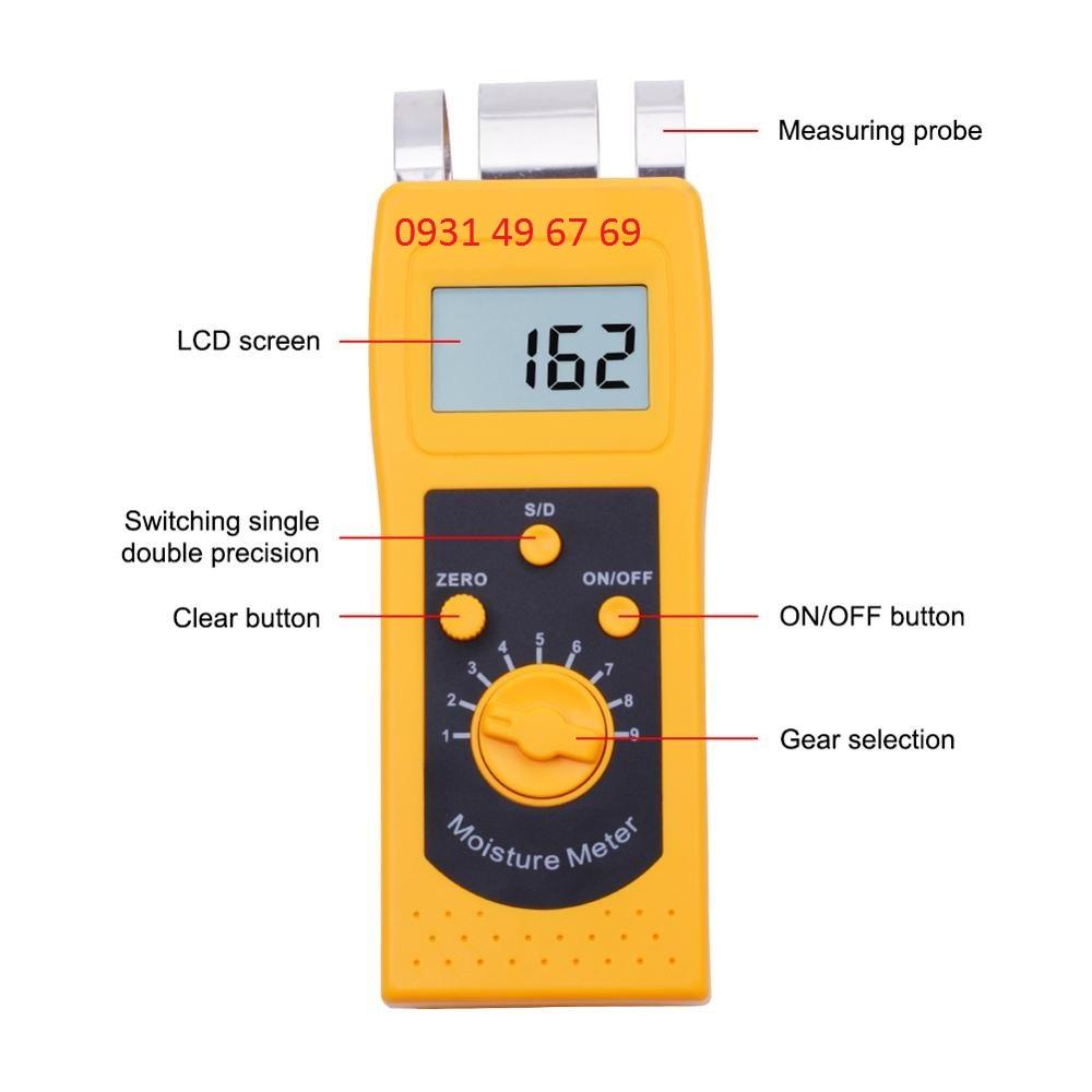 Máy đo độ ẩm vải, sợi bông DM200T