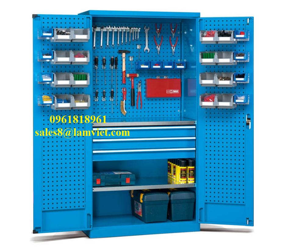Tủ đựng dụng cụ đồ nghề có móc treo - Giá gốc SX