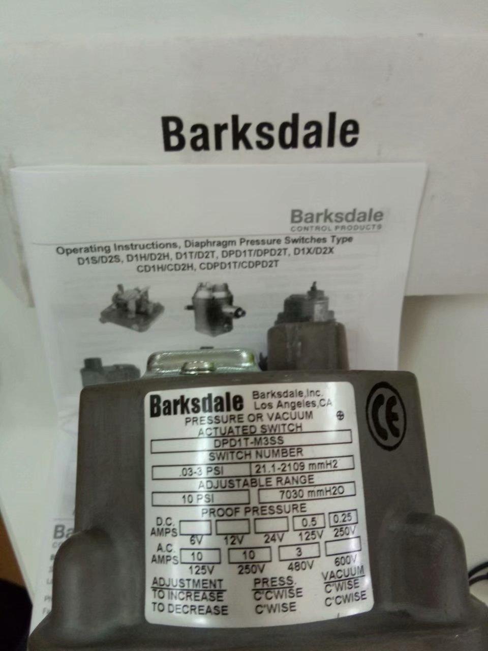 BARKSDALE DPD1T-M3SS