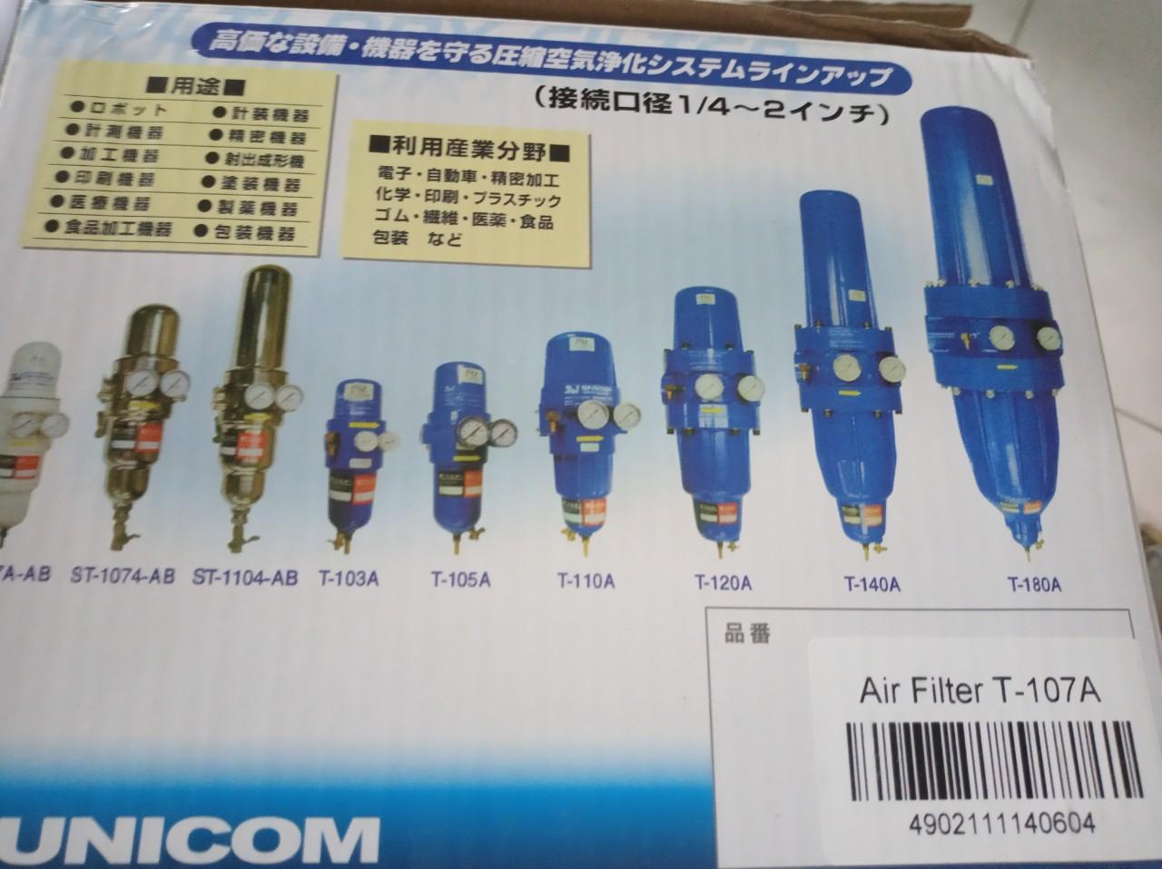 BỘ LỌC (AIR FILTER) T-107A