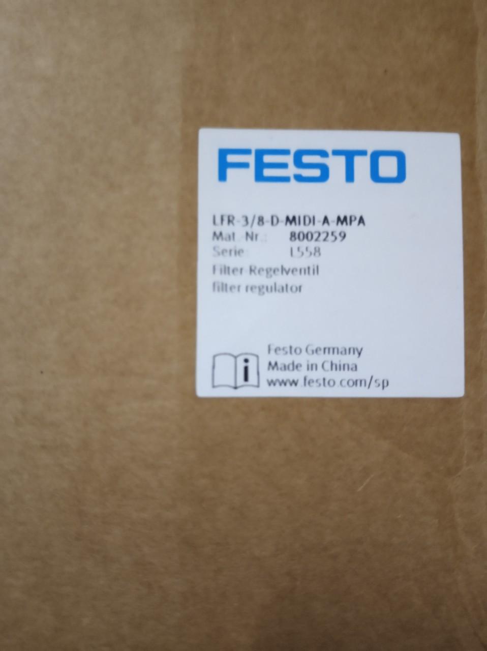 FESTO LFR-3/8-D-MINI-A-MPA 8002259