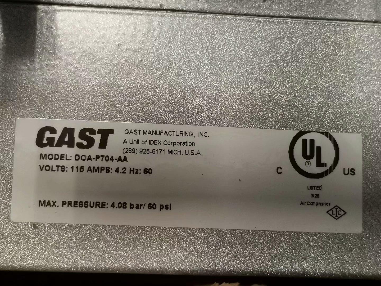 GAST DOA-P704-AA