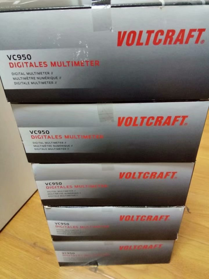 VOLTCRAFT DIGITALES MULTIMETER VC950