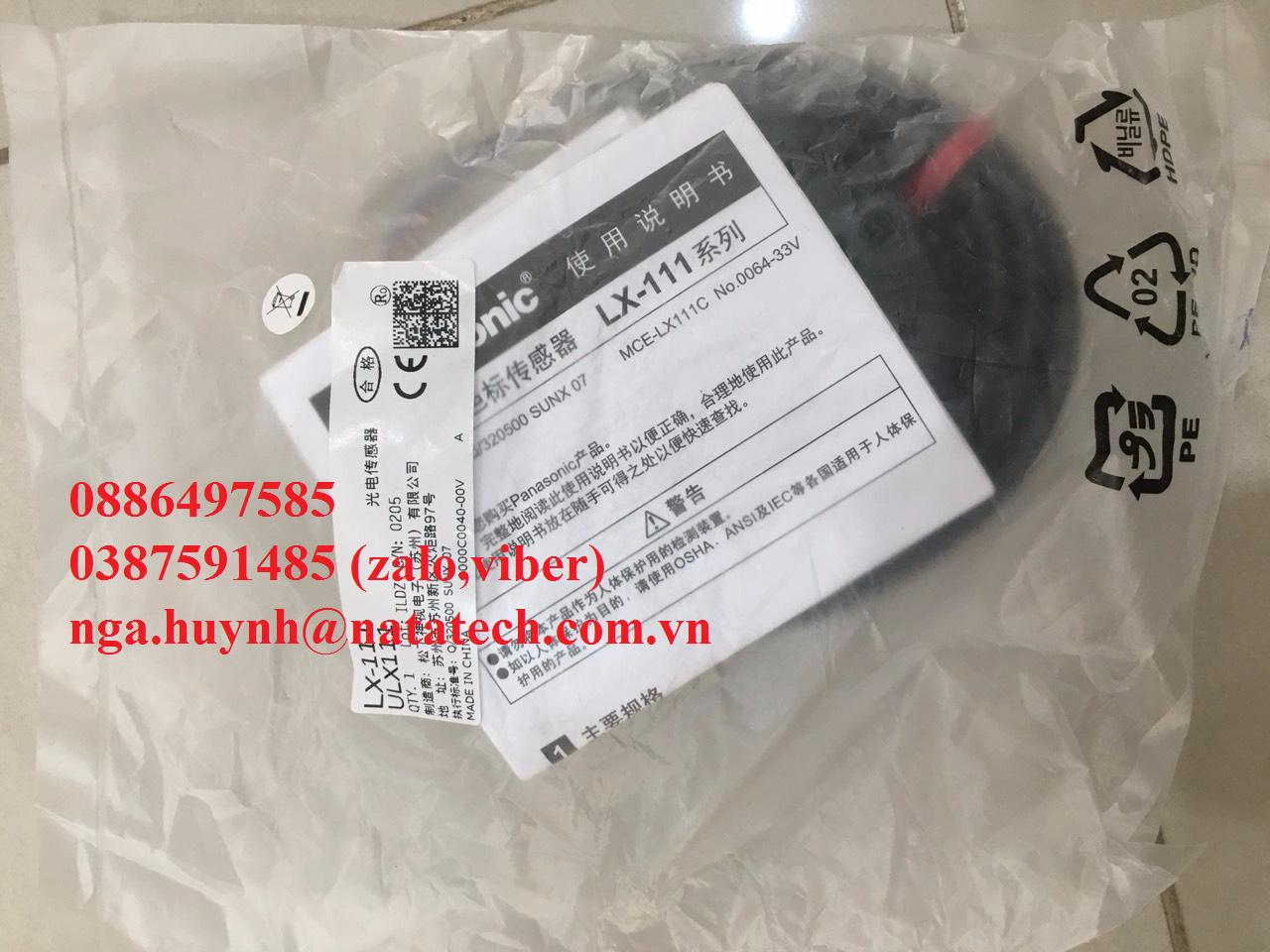 LX-111 cảm biến Quang Panasonic