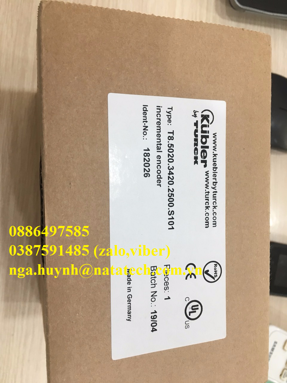 T8.5020.3420.2500.S101 Encoder Kubler