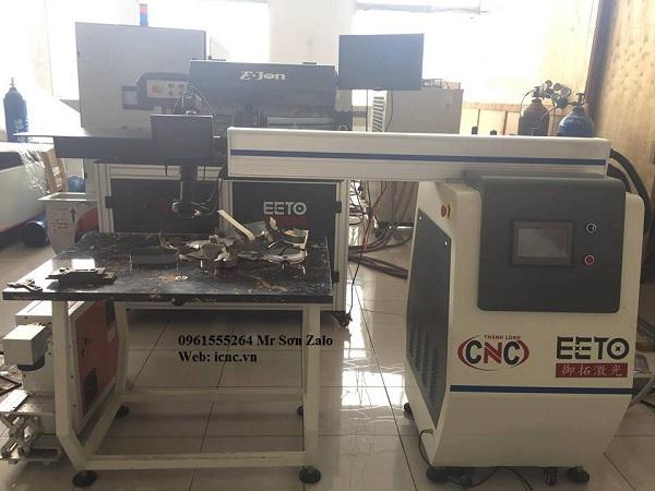 Máy hàn chân chữ inox,máy hàn chân chữ kim loại bằng laser.