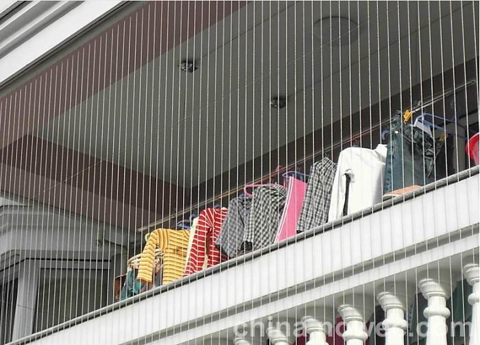 Lưới an toàn ban công chung cư Hòa Phát