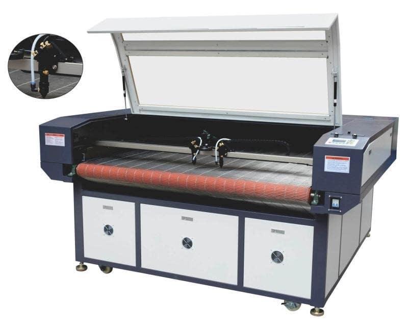 Máy cắt laser tự động cuốn liệu