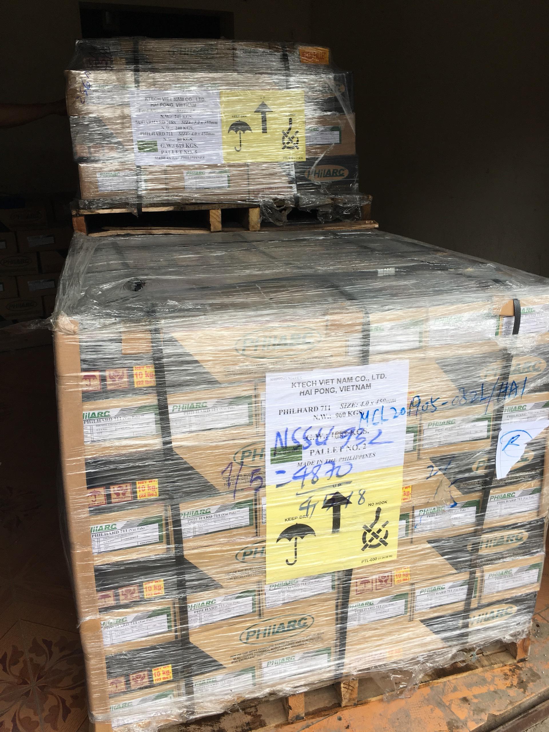 Que hàn chính hãng nhập khẩu Philippins - Chống ăn mòn Philstain 316L