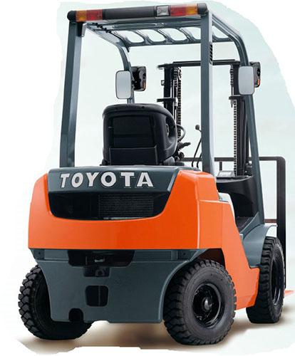 Xe nâng dầu Toyota nhập khẩu 100%, chính hãng
