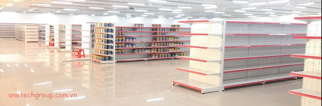Kệ bày hàng siêu thị onetech