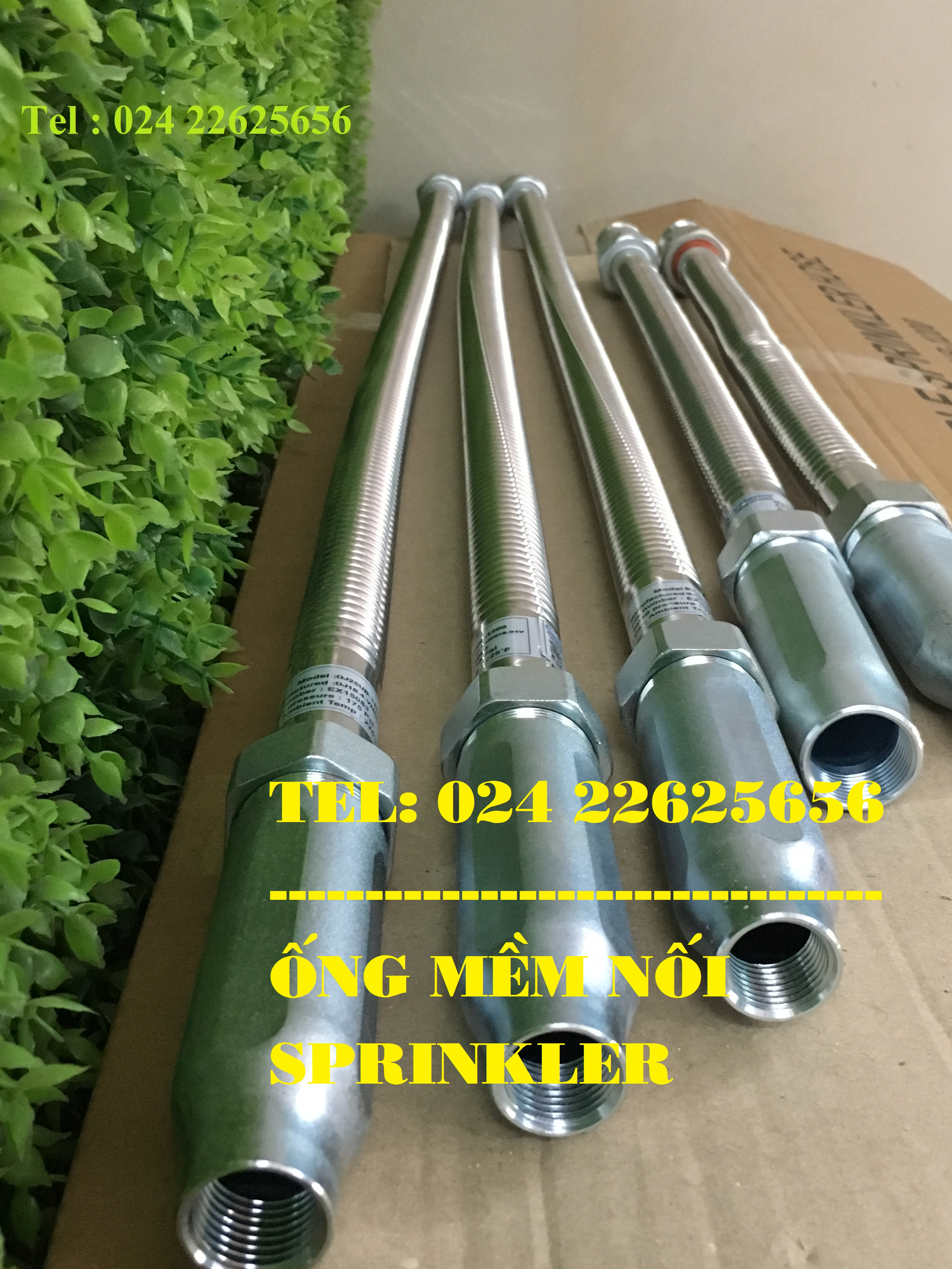 Flexible hose sprinkler Daejin DJ25UB-700