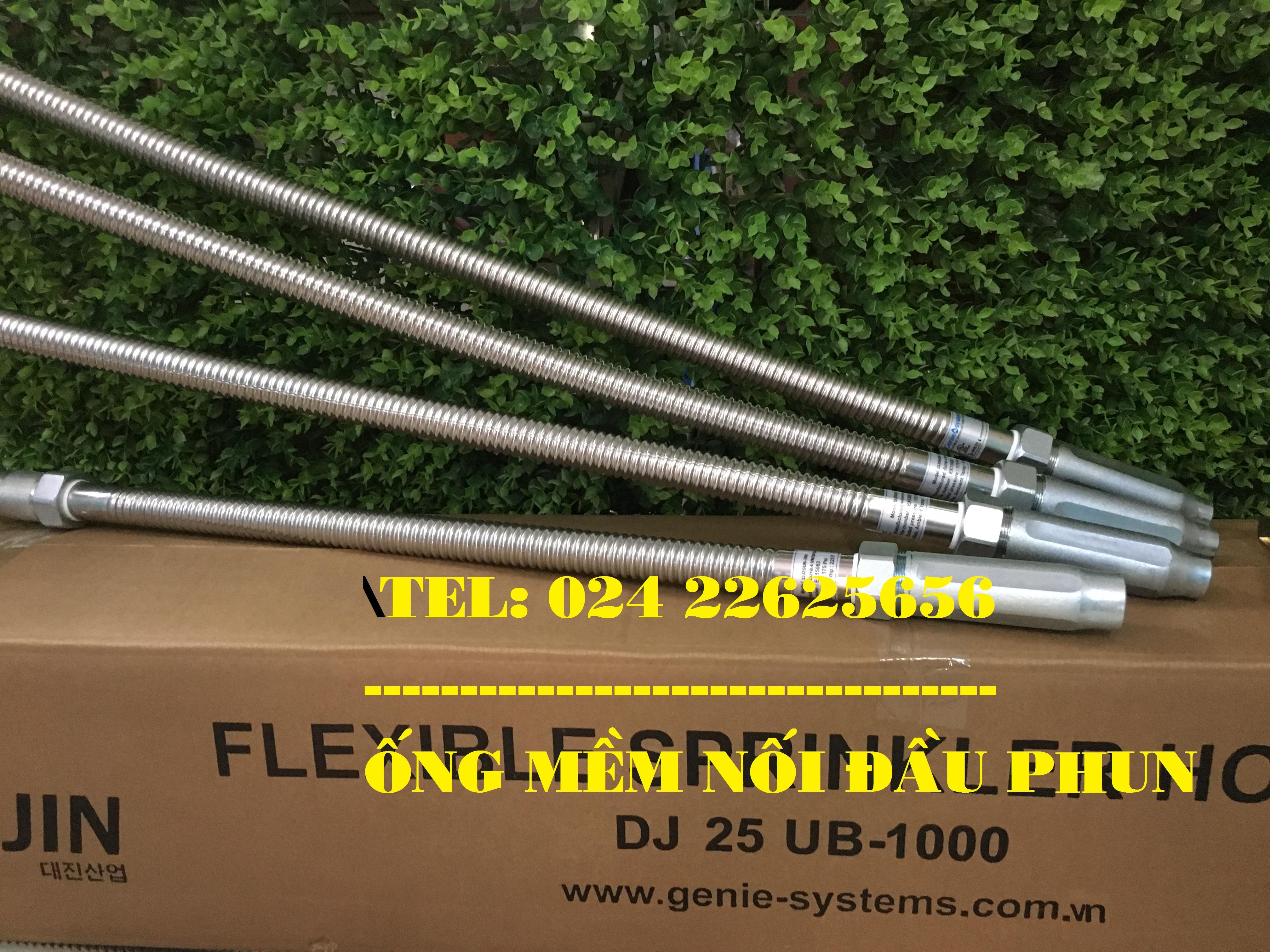 Ống mềm nối đầu phun chữa cháy DJ25UB1500