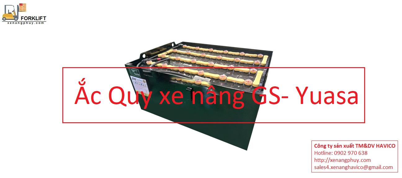 Cung cấp ắc quy xe nâng GS Yuasa giá rẻ nhất thị trường Việt Nam