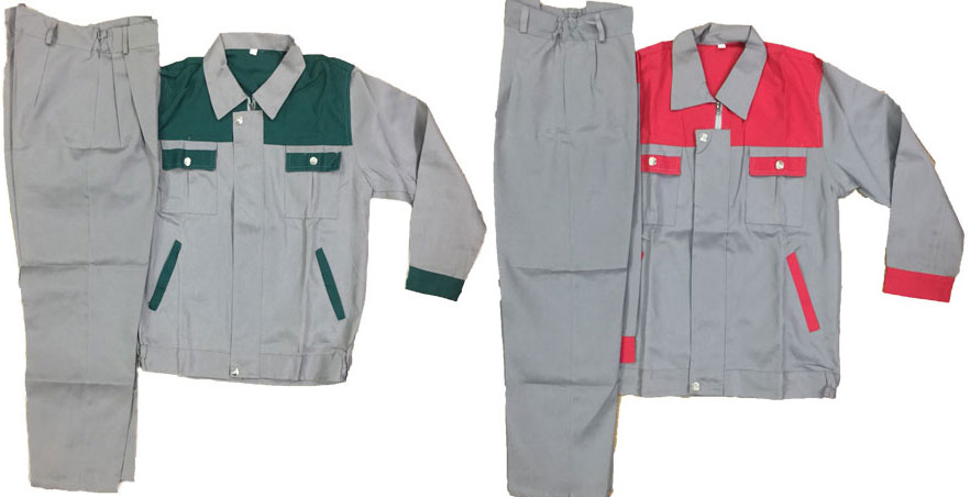 Quần áo bảo hộ lao động giá rẻ chất lượng vải nhập khẩu