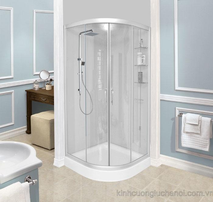 Vách Kính Phòng Tắm - Cabin Phòng Tắm Kính Cường Lực Giá Rẻ Tại HN HCM