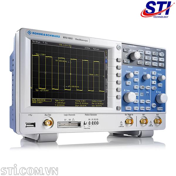 Máy hiện sóng oscilloscope R&S RTC1002 (50MHz, 2CH)