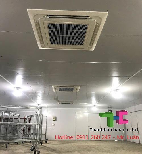 Chuyên tư vấn và lắp máy lạnh âm trần Inverter 5hp cho nhà xưởng  giá rẻ