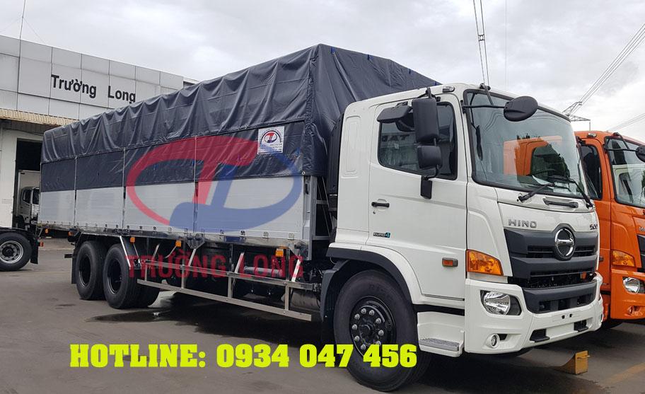 Đóng thùng xe tải Hino Trường Long