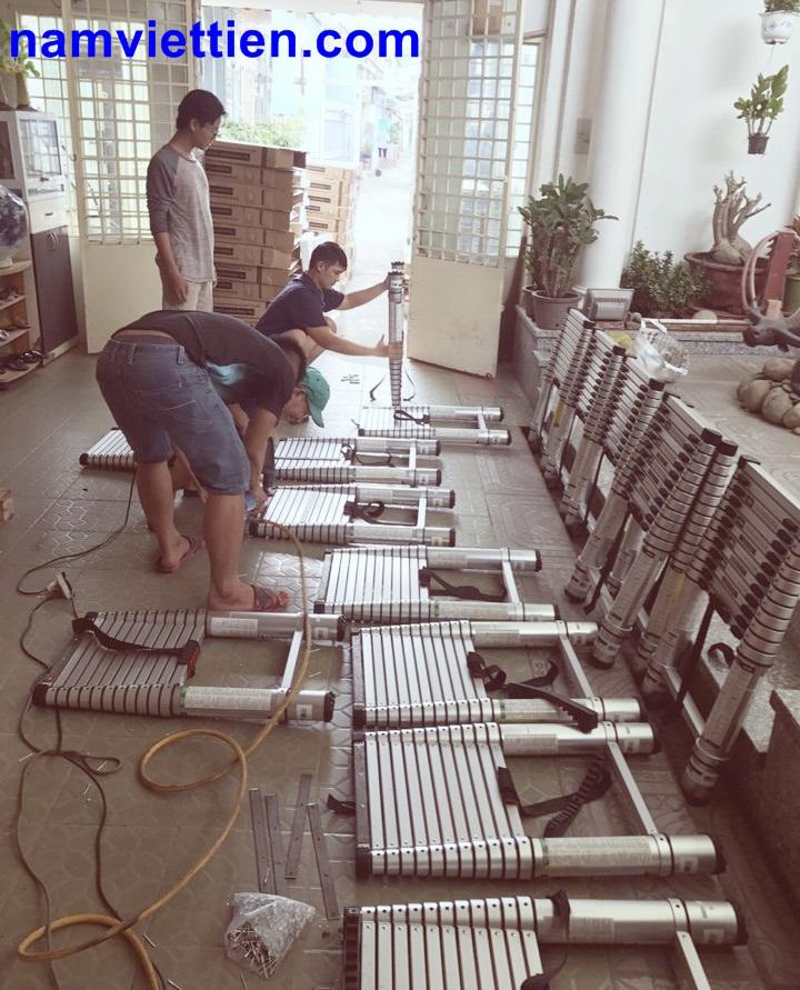 Thang nhôm rút gọn nhập khẩu mỹ chính hãng 100%