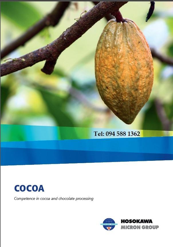 Dây Chuyền Hệ Thống Nghiền Chế Biến Cacao Số 01 Thế Giới