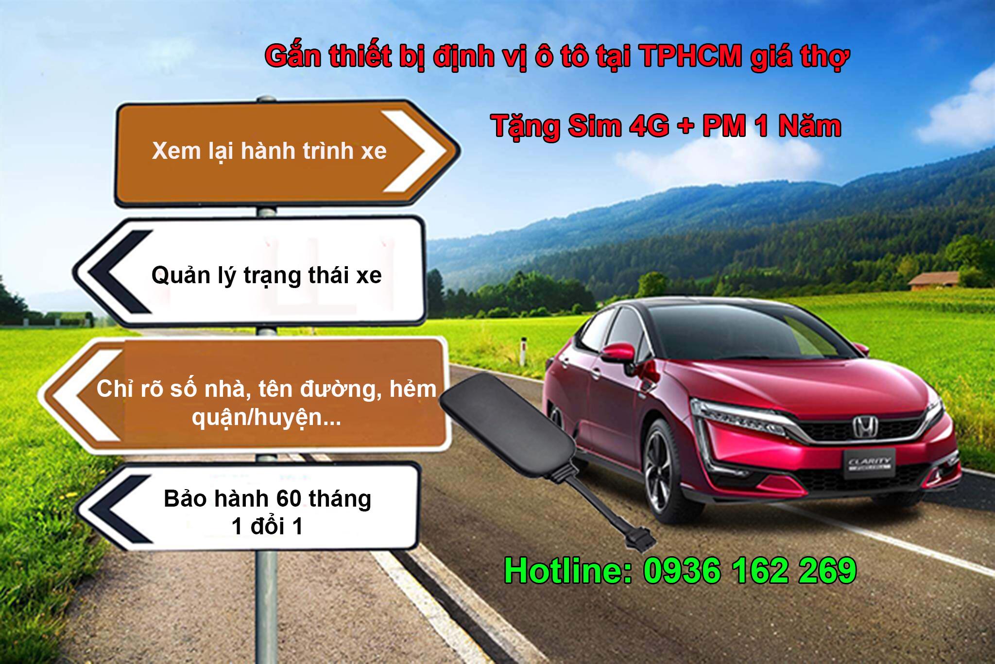 Cung cấp thiết bị định vị ô tô tại TPHCM giá rẻ, lắp tận nơi