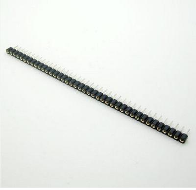 Hàng rào cái 1x40pin chân thẳng (loại tốt)