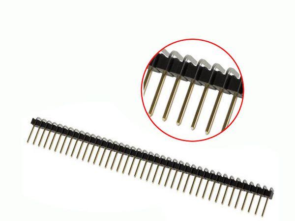Hàng rào đực 1x40pin chân cong (loại thường)