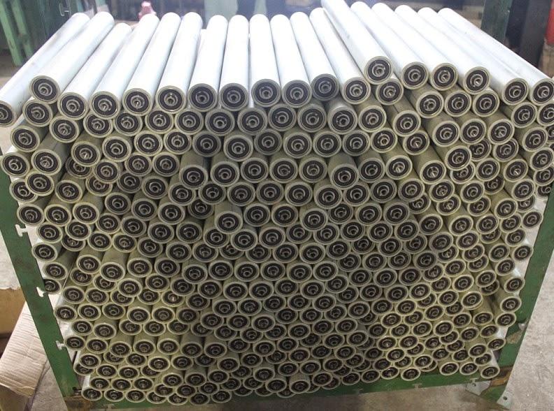 Cung cấp các loại con lăn Inox, nhựa, thép làm băng tải chất lượng cao