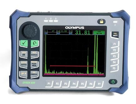 máy siêu âm khuyết tật EPOCH 650, olympus