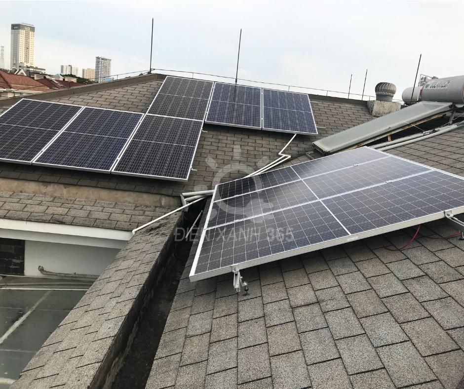giá điện năng lượng mặt trời hòa lưới 5kw